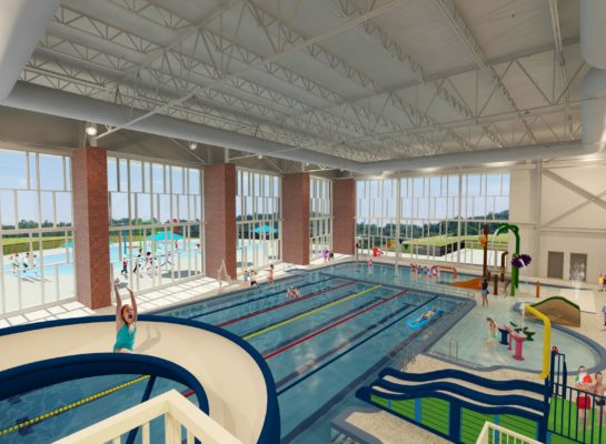 aquatics rec pool rendering