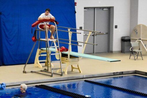 Lifeguard on Stand