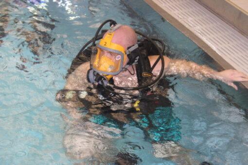 Scuba Diving man
