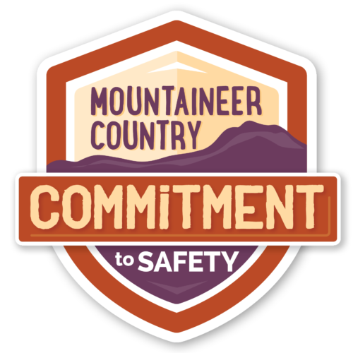 Mountaineer Country Commitment to Safety Logo